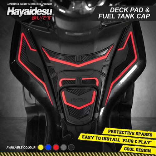 Foto Produk Hayaidesu PCX PAKET HEMAT 3 Special Bundle Body Protector - Merah dari Hayaidesu Indonesia