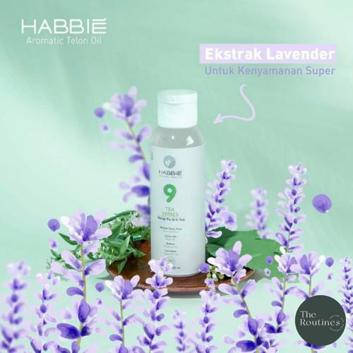 Foto Produk HABBIE - Minyak Telon Aromatic Bayi / Aromatic Telon Oil Baby 100 ml - 9 Pu-Erh Tea dari The Routines