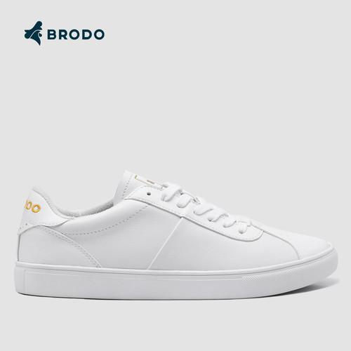 Foto Produk BRODO - Sneakers Corte White WS - 39 dari BRODO OFFICIAL STORE