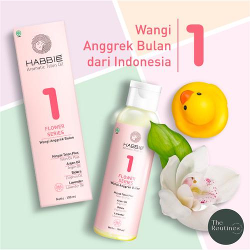 Foto Produk HABBIE - Flower Series Minyak Telon Aromatic Bayi / Baby Oil 100 ml - 1 Anggrek Bulan dari The Routines