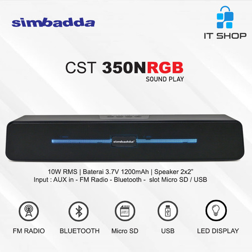 Foto Produk Simbadda Portable Music Player CST 350N Sound Play dari IT-SHOP-ONLINE