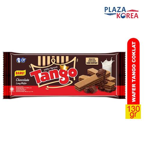 Foto Produk TANGO WAFER 130 GR - CEMILAN RENYAH LAPIS KRIM TEBAL YANG LEZAT - COKELAT dari Plaza Korea