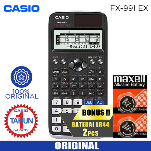Foto Produk CASIO CALCULATOR FX 991 EX dari Sinarmutiara Online