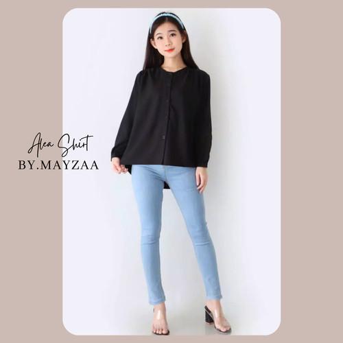Foto Produk Alea Shirt By Mayza - Black, M dari Mayzaa