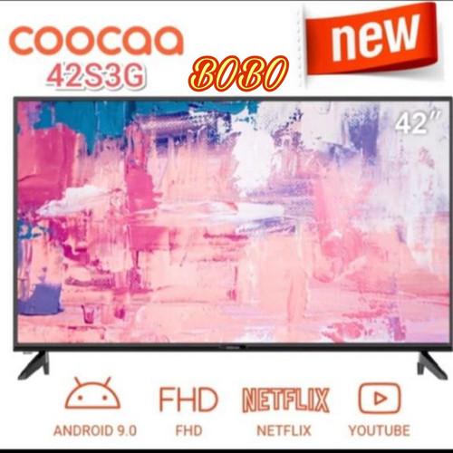 Foto Produk COOCAA LED TV 42S3G-42 INCH SMART ANDROID YOUTUBE NETFLIX NEW 2020! dari Bobo electronics