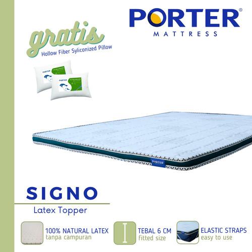 Foto Produk PORTER Full Latex Topper - FREE ONGKIR JABODETABEK - 120 x 200 dari PORTER Mattress