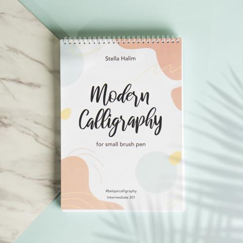 Foto Produk Buku Modern Calligraphy 201 - with Small Brush Pen - Digital, Tanpa Kelas dari Belajar Calligraphy