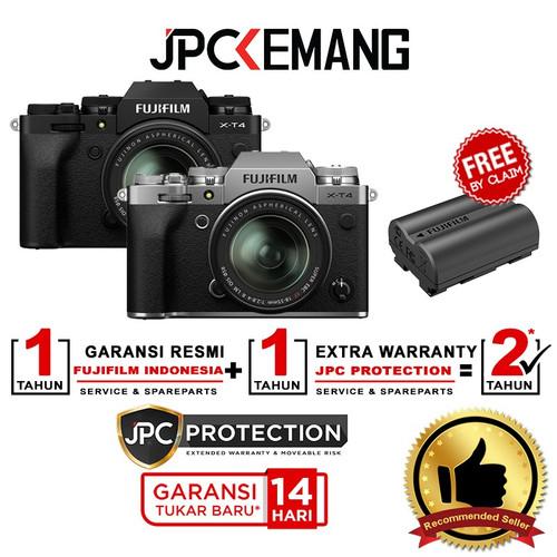 Foto Produk Fujifilm XT4 Fuji X-T4 Kit 18-55mm f/2.8-4 R LM OIS GARANSI RESMI dari JPCKemang
