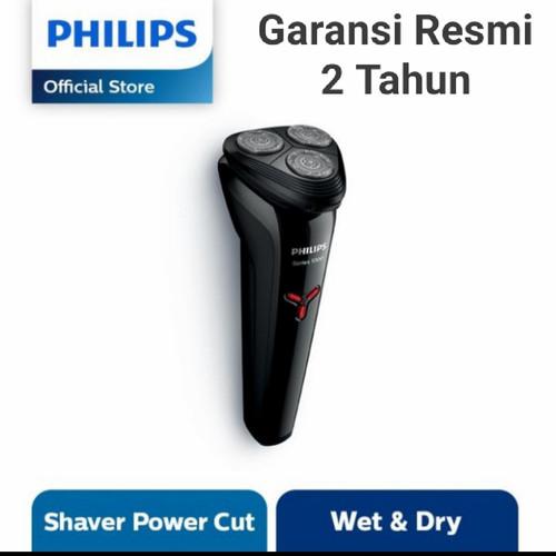 Foto Produk PHILIPS Shaver S1103 Wet & Dry Series 1000 S1103/02 S 1103 - Tanpa Pouch dari Best Sollution