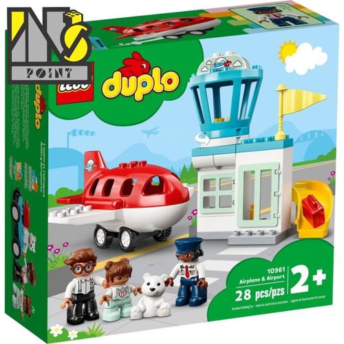 Foto Produk LEGO 10961 - Duplo - Airplane & Airport dari Ins Point
