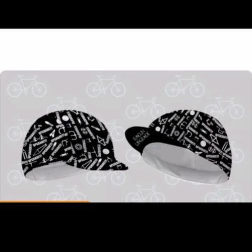 Foto Produk Topi Sepeda Cycling Cap - Racun Upgrade dari sixteengear