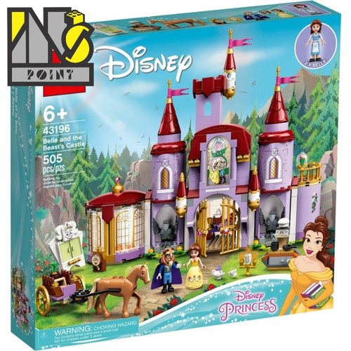 Foto Produk LEGO 43196 - Disney - Belle and the Beast's Castle dari Ins Point