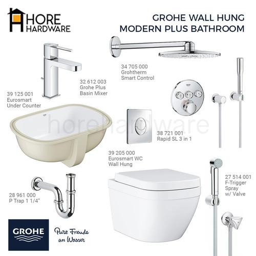 Foto Produk GROHE Paket Wall Hung Complete Bathroom - Paket Plus dari HORE Hardware