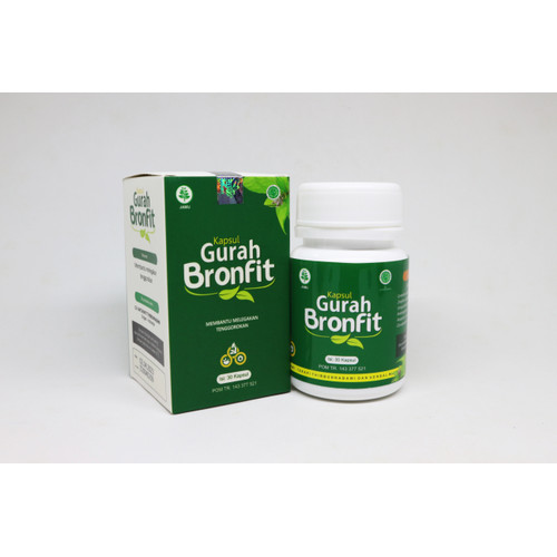 Foto Produk Kapsul Gurah Bronfit dari Obat Herbal Solo