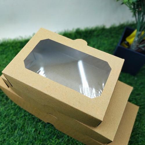 Foto Produk Kotak Makanan Kemasan Penyimpanan Dos Laminasi 16 x 11 x 5,5 dari Rahmah Tas Kertas dan Kemasan