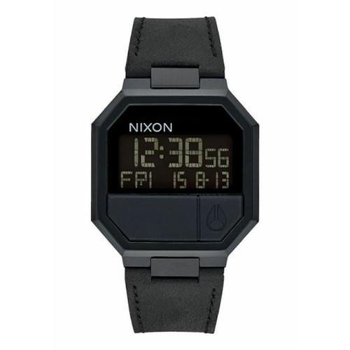 Foto Produk Jam Tangan Pria Nixon Re-Run A944001 All Black Leather dari Gudang Jam SUPERCENTER