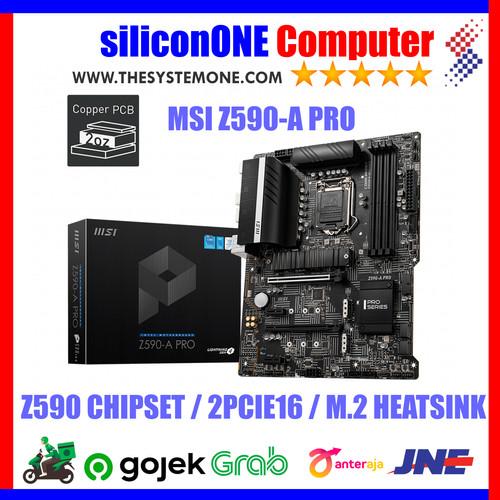 Foto Produk MSI Z590-A PRO Z590 dari silicon ONE Computer