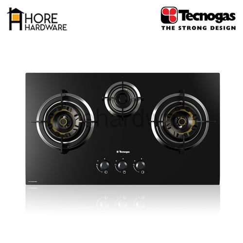 Foto Produk TECNOGAS Kompor Tanam Gas 3 Tungku H73VAESG dari HORE Hardware