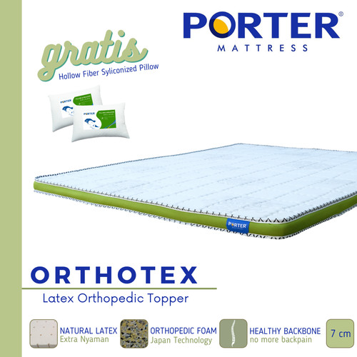 Foto Produk PORTER - ORTHOTEX Topper FREE ONGKIR JABODETABEK - 120 x 200 dari PORTER Mattress