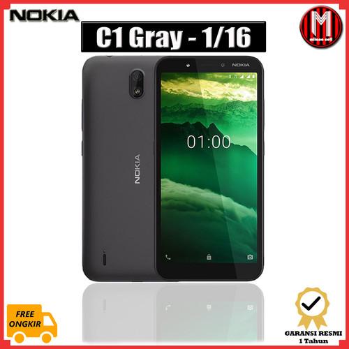 Foto Produk Nokia C1 2020 Android Ram 1/16 GB Garansi Resmi TAM - Gray dari Milano Cell ITC Kuningan