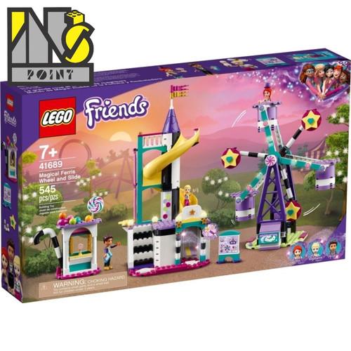 Foto Produk LEGO 41689 - Friends - Magical Ferris Wheel and Slide dari Ins Point