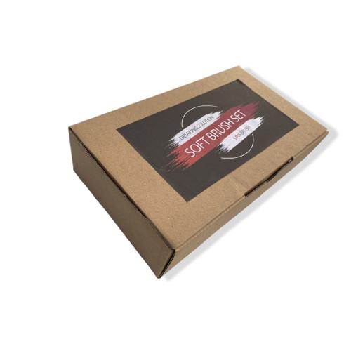 Foto Produk Kuas Detailing isi 5 Pure Bristle Detailing Brush - Box Coklat dari Benelly