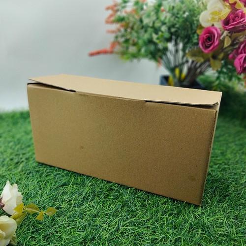 Foto Produk Kotak Sepatu Penyimpanan Dos Kardus Oleh-oleh Serbaguna 27 x 9 x 13 dari Rahmah Tas Kertas dan Kemasan