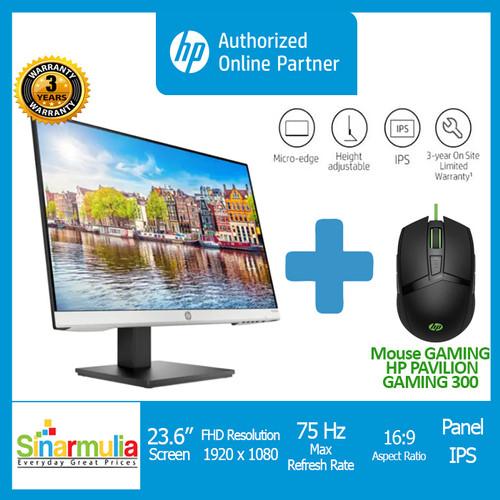 Foto Produk HP 24mh 23.8-inch Monitor - HP 24mh monitor dari Sinarmulia Sukses Makmur
