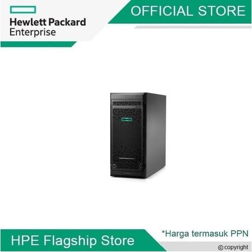 Foto Produk Server HPE ProLiant ML110 Gen10 Xeon-S 4210R 16GB 1.2TB SAS P21449-371 dari HPE Flagship Store