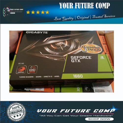 Foto Produk VGA Gigabyte GTX 1660 6GB | GTX1660 6 GB Windforce OC GDDR5 D5 Gaming dari Your Future Comp