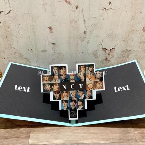 """Foto Produk 3D POP-UP CARD """"LOVELY"""" [Greeting Card] / Kartu Ucapan / DIY - Biru dari KARTUKU.CO"""