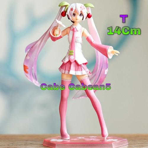Foto Produk Figure Hatsune Miku Sakura Pink Flower dari CABE CABEAN5