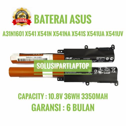 Foto Produk BATERAI ASUS A31N1601 X541 X541N X541NA X541S X541UA X541UV ORI dari SolusiPartLaptop