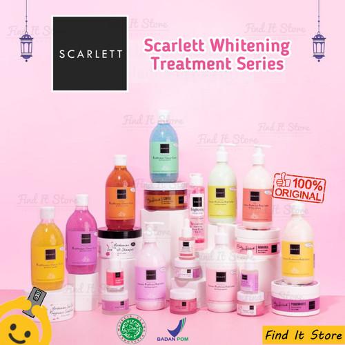 Foto Produk Scarlett Whitening Brightening Body Lotion Sabun Shower Scrub - LOTION Fantasia dari Find It Store