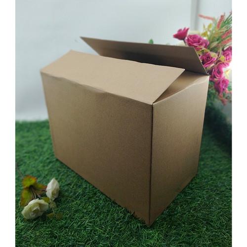 Foto Produk Kotak Makanan Penyimpanan Dos Kardus Oleh-oleh Serbaguna 32 x 19 x 24 dari Rahmah Tas Kertas dan Kemasan
