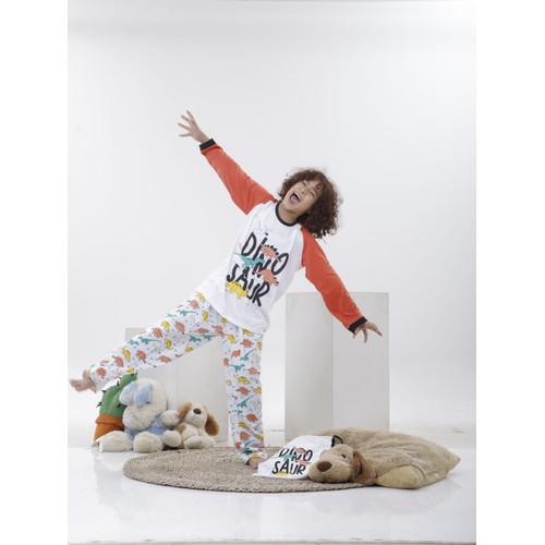 Foto Produk Piyama Anak Long Shirts Dinosaur LSLP117 - 10 dari Boboo Kids