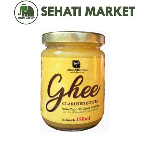 Foto Produk GHEE ORGANIC FARM CLARIFIED BUTTER 250 ml MPASI dari SEHATI MARKET