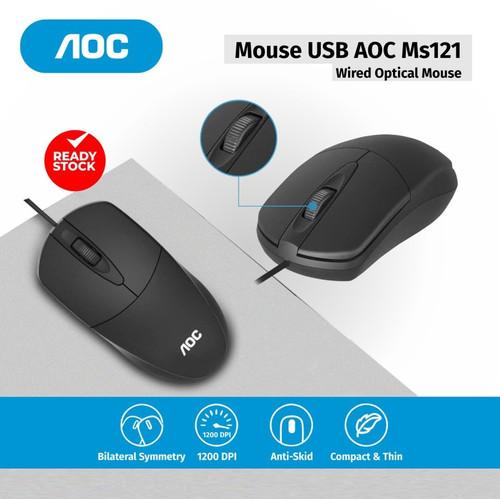 Foto Produk AOC MS121 Optical Mouse Kabel dari SpecialDealShop