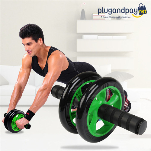 Foto Produk AB Wheel Sport Alat Gym Fitness Roller Roda - plugandpay dari plugandpay