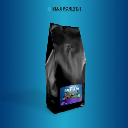 Foto Produk Korintji Robusta • Large Pouch - 1 kg dari Blue Korintji