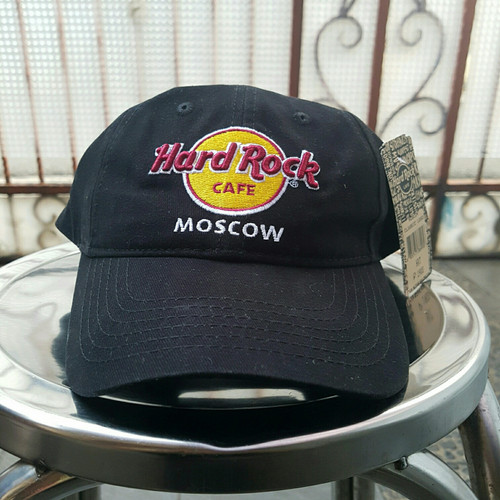 Foto Produk Topi warna Hitam Logo Hard Rock Moscow dari UAV