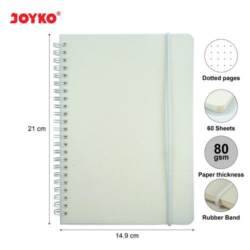 Foto Produk Joyko Notebook Diary Agenda Buku Catatan NB-700 - Dotted dari JOYKO Official