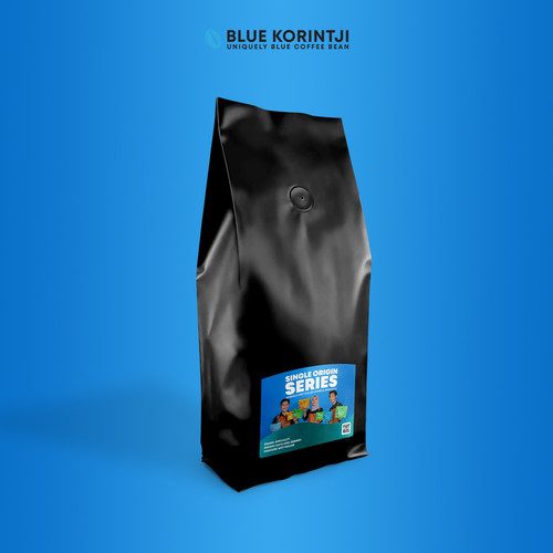 Foto Produk Korintji Wet Hulled • Large Pouch - 1 kg dari Blue Korintji