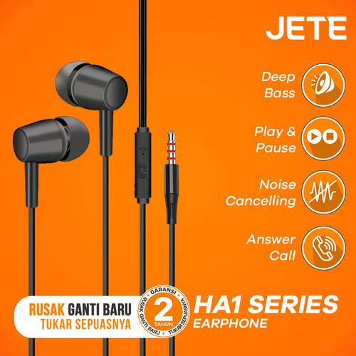 Foto Produk Headset   Headphone   Handsfree   Earphone JETE HA1 dari JETE Official Surabaya