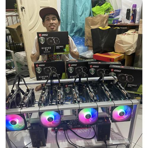 Foto Produk RIG MINING 8 VGA RX 580 8GB dari hypebeastjakarta