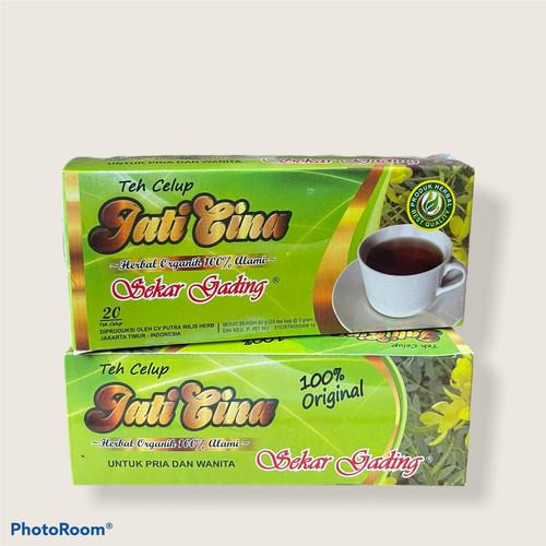 Foto Produk Teh celup Jati Cina Sekar Gading dari NK Herbal