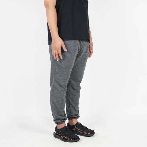Foto Produk Jogger Pants Celana Panjang Training Sweatpants Abu Tua Bigsize Unisex - L dari Daily Outfits DYO