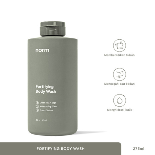 Foto Produk Fortifying Body Wash dari Norm Official
