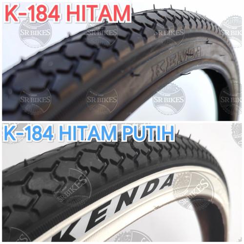 Foto Produk Ban Luar 26 x 1 3/8 (ETRTO 37-590) Sepeda CTB JENGKI Mini. KENDA - K-184 HITAM dari SR Bikes
