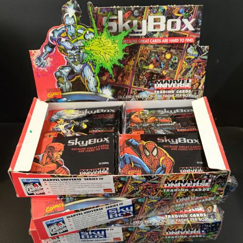Foto Produk Marvel Universe trading cards dari Charu Toys